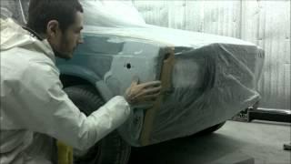 покраска авто в гараже ВАЗ 2107
