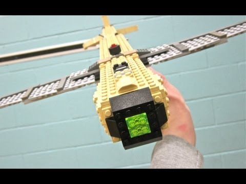 LEGO HUNTER KILLER DRONE - Black Ops 2 - Life Size