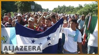 🇲🇽🇺🇸 Migrant caravan continues towards dangers in Mexico | Al Jazeera English - ALJAZEERAENGLISH