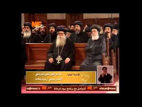 فضيلة الملامة - البابا تواضروس - الأربعاء 27 نوفمبر 2013
