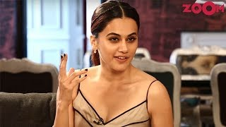 Taapsee Pannu Shows Her Sultry Avatar | Open House With Renil - ZOOMDEKHO
