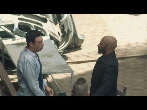 مسلسل الاسطورة - خناقه رفاعي الدسوقى مع عصام النمر - محمد رمضان