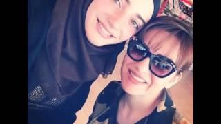 بالفيديو والصور: ها هي ابنة صفاء سلطان المحجبة .. فهل تشبهها؟
