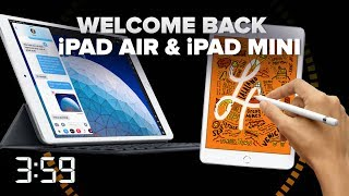 Apple's iPad family welcomes back refreshed iPad Air, Mini (The 3:59, Ep. 535) - CNETTV