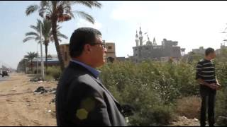 بالفيديو.. محافظ دمياط يقود حملة لإزالة التعديات على حرم طريق قرية