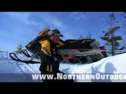 Snowmobiling in The Forks Maine- Great Feb 2013 Trail Conditions @ Northern Outdoors