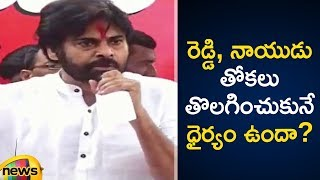 Pawan Kalyan Speech At Dharmavaram | Pawan Kalyan Latest Speech | Janasena Rachabanda Program - MANGONEWS