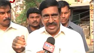 Minister Narayana Praises TV5 over Hudhud Cyclone Updates : TV5 News - TV5NEWSCHANNEL