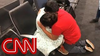 See emotional moment Guatemalan mother reunites with son - CNN