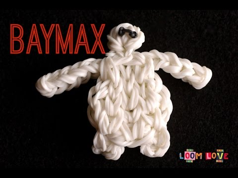 How to Make a Rainbow Loom Big Hero 6 Baymax