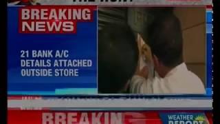 Notices put outside Nirav Modi store; 21 bank account details attached outside store - NEWSXLIVE