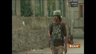 Srinagar: Encounter underway between terrorists and security forces near Batamaloo - INDIATV