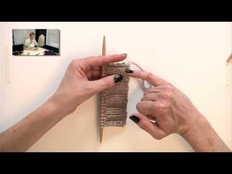 Knitting Help - Weaving in Ends in Ribbing