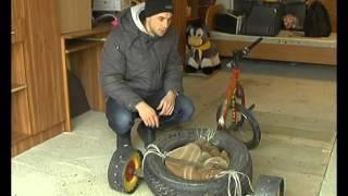 Экстремалы из Липецка изобрели велосипед для дрифта