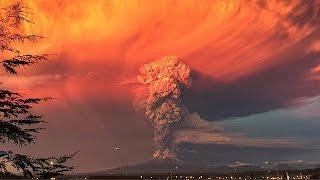 بالفيديو.. لحظة ثوران 'بركان' في جنوب تشيلي وإجلاء آلاف الأشخاص من المنطقة