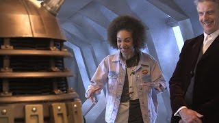 Pearl Mackie's first experience with a Dalek - Doctor Who - BBC - BBC