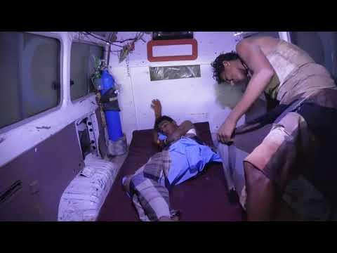 إصابة مواطنين اثنين بإنفجار قنبلة من مخلفات مليشيات الحوثي في مديرية الحوك بالحديدة