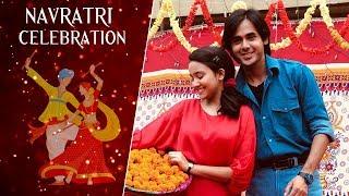 Cast of Yeh Unn Dino Ki Baat Hai  celebrate Navratri I Exclusive I TellyChakkar - TELLYCHAKKAR
