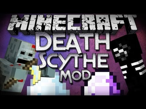 Minecraft Mod Showcase: Death Scythe Revisted - New Scythes, Mobs, Armor, and More!