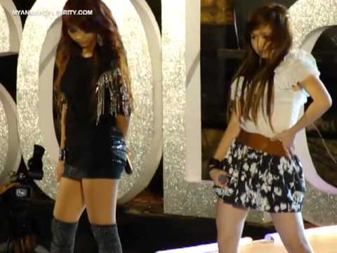 Myanmar Models Hot Performance @ Solo Live Concert, May 2011