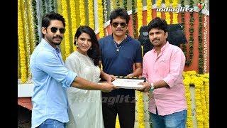 Naga Chaitanya Samantha new movie launch   Siva Nirvana   Divyansha Kaushik - IGTELUGU