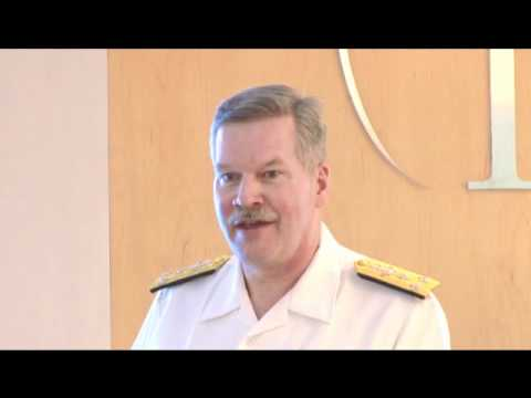 Vice Admiral Mark Fox, Commander, U.S. Naval Forces Central Command