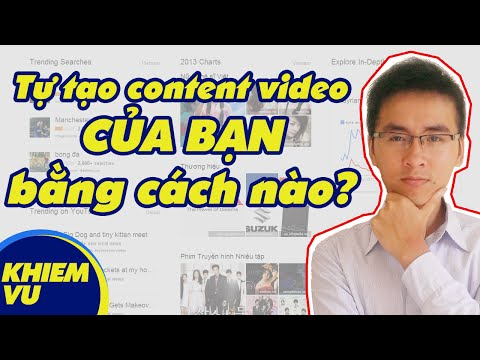 ý tưởng sáng tạo nội dung kiếm tiền video youtube
