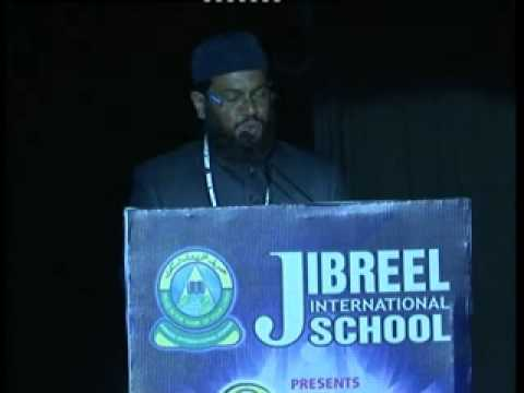 Tajalli 2014 Jibreel International School N  Sabah Ismail Nadvi Chief Administrator