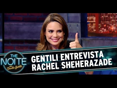 Danilo Gentili entrevista Rachel Sheherazade