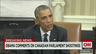 Obama: We stand side-by-side with Canada - CNN