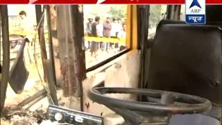 Bus overturns due to bursting tire l One killed - ABPNEWSTV