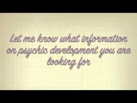Psychic Development - Exercises