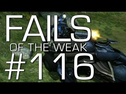 Halo: Reach - Fails of the Weak Volume 116! (Funny Halo Bloopers and Glitches!)