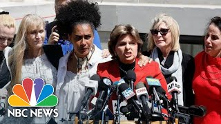 'We Are Not Going Away': Bill Cosby Accusers Speak After Guilty Verdict | NBC News - NBCNEWS