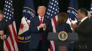 Trump Praises New, Berates Former CIA Director - VOAVIDEO