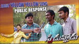 Speedunnodu Yellow Yellow song Public Response - Idlebrain.com - IDLEBRAINLIVE