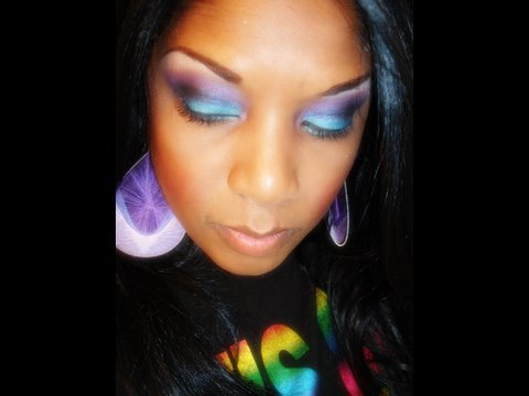 Inspired by MacNC40 using the Urban Decay Eye Shadow