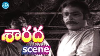 Sarada Movie Scenes - Rao Gopal Rao Worries About Sharada || Shobhan Babu || Allu Ramalingaiah - IDREAMMOVIES