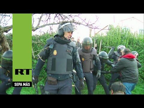 España: La Policía desahucia a una anciana de 72 años