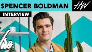 'Lab Rats', Spencer Boldman Talks Working With Zendaya & Gets Coffee With Gigi Hadid  | Hollywire - HOLLYWIRETV