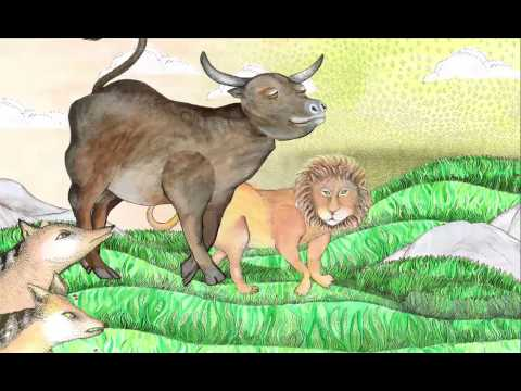 Kalila wa Dimna: Fables Across Time Tablet App: The Lion and The Ox (English)