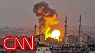 Israel launches 'wide-scale attack' against Hamas targets in Gaza - CNN