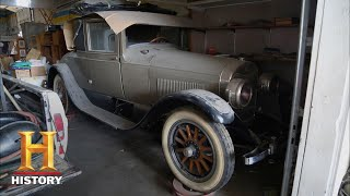 American Pickers: A 1923 Lincoln Leland/Mercury (Season 17, Episode 3) | History - HISTORYCHANNEL