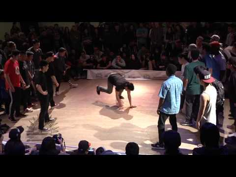 Northwest Sweet 16 - 2013 Crew Finals - Dance Broomz vs Jungle Brothers | B-BOY NETWORK CHANNEL