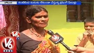 People are in concern with blastings & crushing at quarries - Medak - V6NEWSTELUGU