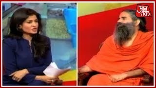 Petrol Can Be Sold At ₹40 Per Litre If Govt Gives Up Taxes | Baba Ramdev 1-On-1 Anjana Om Kashyap - AAJTAKTV