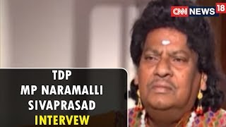 TDP MP Naramalli Sivaprasad Intervew (Exclusive) | Viewpoint With Bhupendra Chaubey | CNN-News18 - IBNLIVE