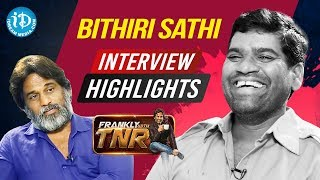 Bithiri Sathi Interview Highlights | Frankly With TNR #172 | Talking Movies With iDream - IDREAMMOVIES