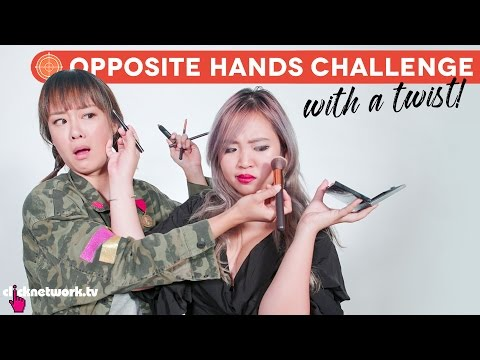 Opposite Hands Challenge With a Twist! - Hype Hunt: EP21