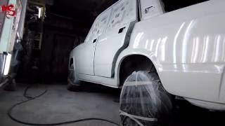 Ваз 2107 видео 4 Покраска авто